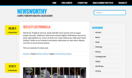 Newsworthy Theme — WordPress Themes for Blogs at WordPress.com